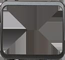 Изображение TUNA комплектующие металик черный