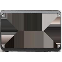 Изображение TUNA комплектующие двойные мет черный