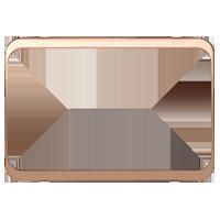 Изображение TUNA комплектующие двойные мет золото