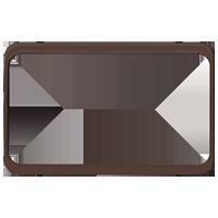 Изображение TUNA комплектующие двойные коричневый