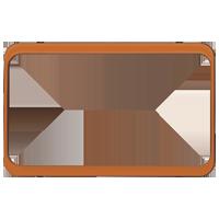 Изображение TUNA комплектующие двойные оранжевый