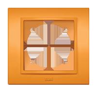 Изображение ZENA Рамка 1-я оранжевая