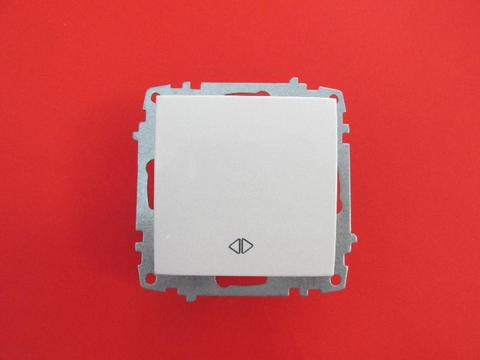 Изображение ZENA модуль белый Выключатель промежуточный