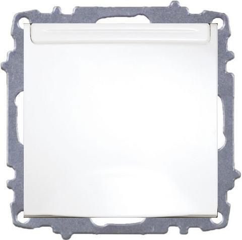 Изображение ZENA модуль белый Розетка с/з с крышкой