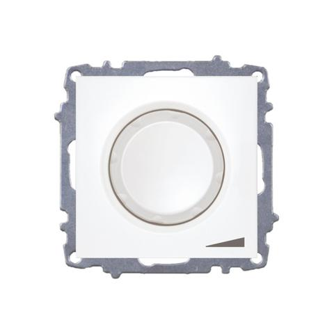 Изображение ZENA модуль крем Выключатель реостат 800, 300W с подсветкой