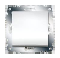 Изображение ZENA модуль белый Выключатель