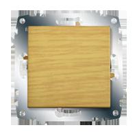 Изображение ZENA модуль береза Выключатель 1 кл