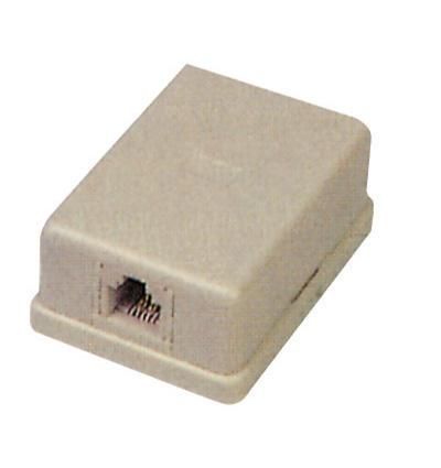 Изображение VT-4109 Телефонная розетка 1-линейная 6p4c