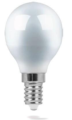 Изображение Лампа светодиодная, (5W) 230V E14 4000K, LB-38