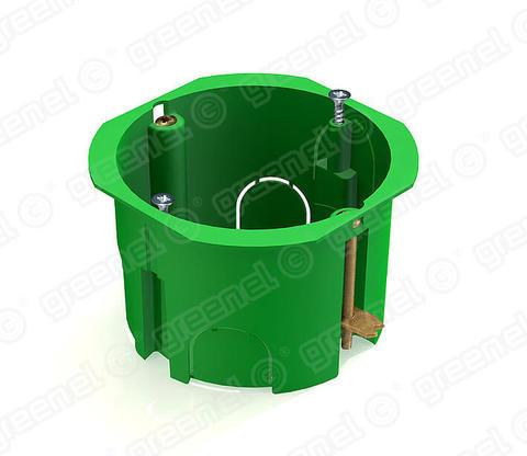 Изображение Коробка установочная 68*45 для полых стен с металл.лапками (250шт)