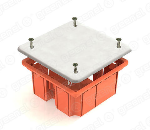 Изображение Коробка распределительная 92*92*45 для кирпичных стен (126шт)