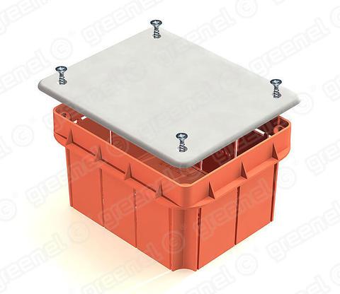 Изображение Коробка распределительная 120*92*70 для кирпичных стен (56шт)