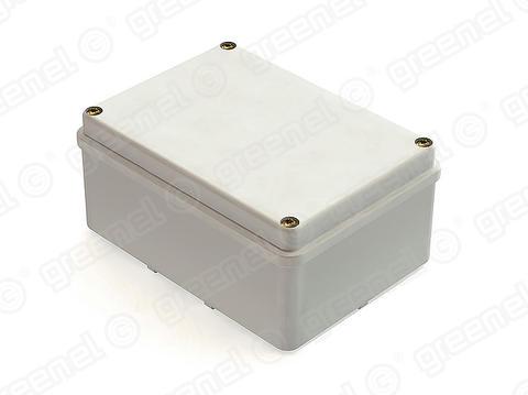Изображение Коробка приборная для наружного монтажа с гладкими стенками 150*110*85, IP55 в комплекте с кабельными вводами PG11-5 шт (28шт)