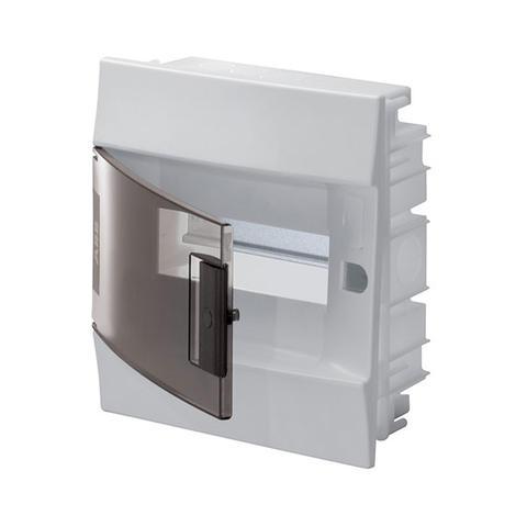 Изображение Бокс в нишу Mistral41 8 M прозрачная дверь (с клемм)