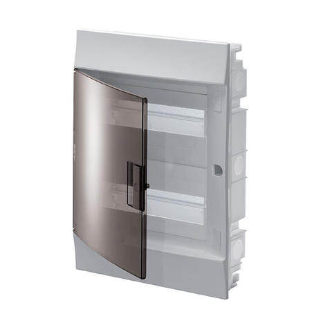 Изображение Бокс в нишу Mistral41 24 M прозрачная дверь (с клемм)